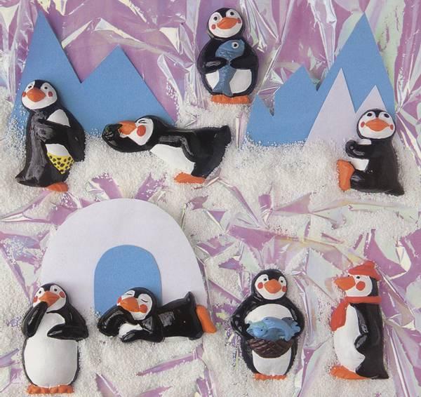 Bilde av Gipsform, Pingvin +pin