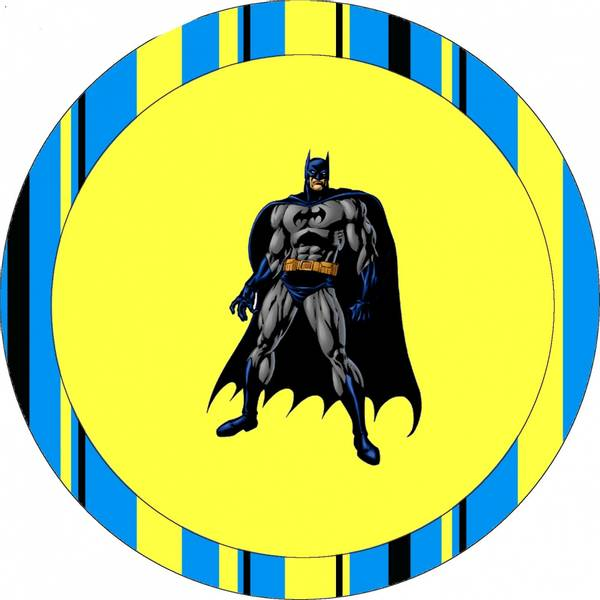 Bilde av Batman, Kakebilde3, 20cm