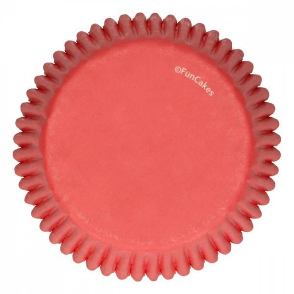 Bilde av Røde; Muffinsformer, 48 stk
