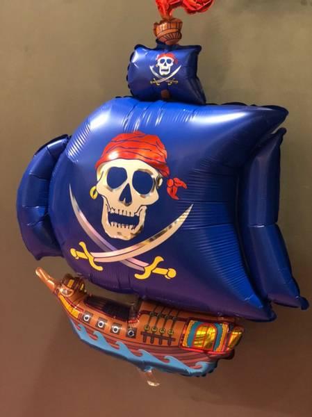 Bilde av Piratskip Folieballong