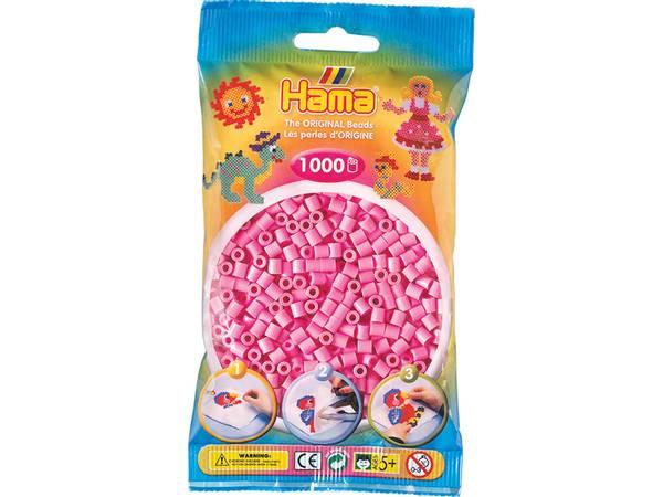 Bilde av Hama Midi super 1000s – 48 Pastell rosa