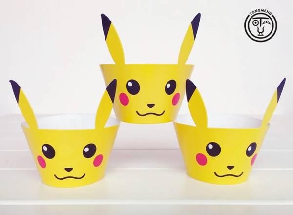 Bilde av Pikachu Cupcake Wrappers, 12stk