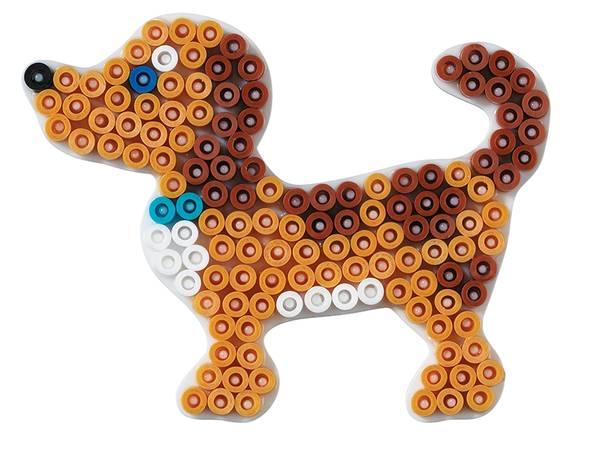 Bilde av Perleplate MIDI – Liten hund