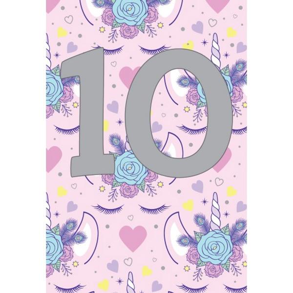 Bilde av Bursdagskort 10 År Jente