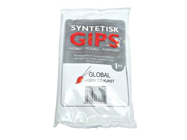 Bilde av Syntetisk gips 1kg