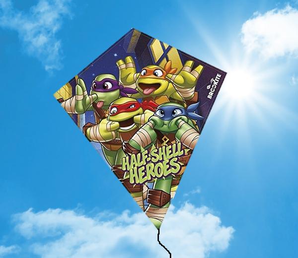 Bilde av Ninja Turtles Drage, 70x60 cm