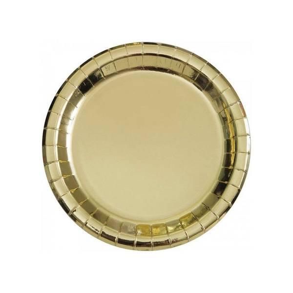 Bilde av Gull asjetter 18 cm