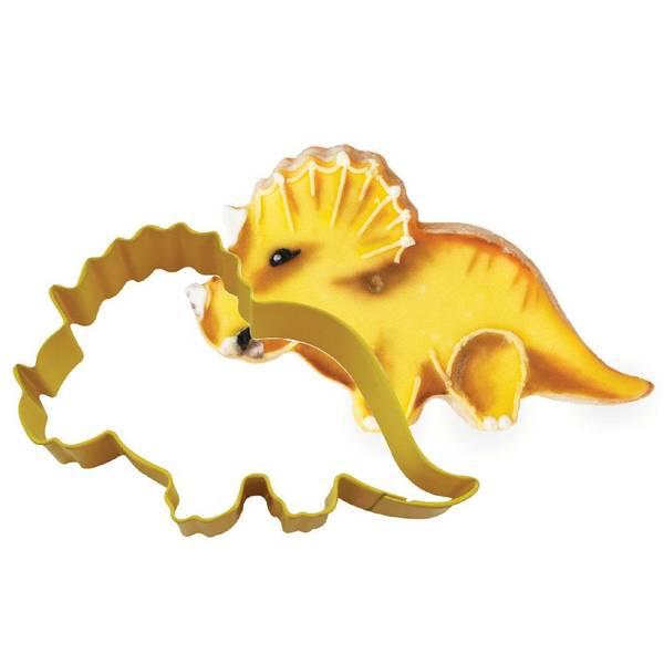 Bilde av Triceratops Dinosaur Kakeutstikker Gul