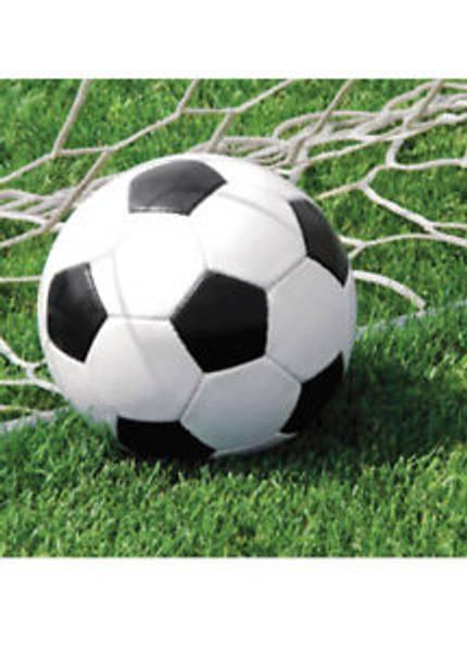 Bilde av Fotball, Servietter 2, 18 stk