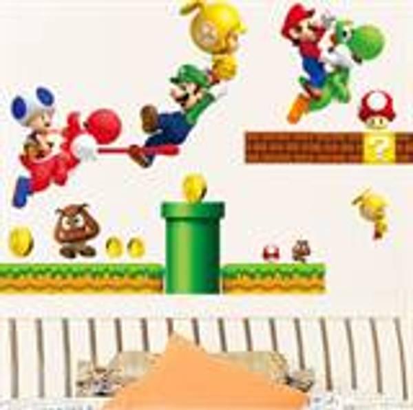Bilde av Super Mario, Wallsticers