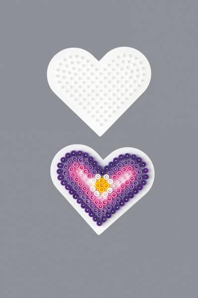 Bilde av Perleplate MIDI – Lite Hjerte