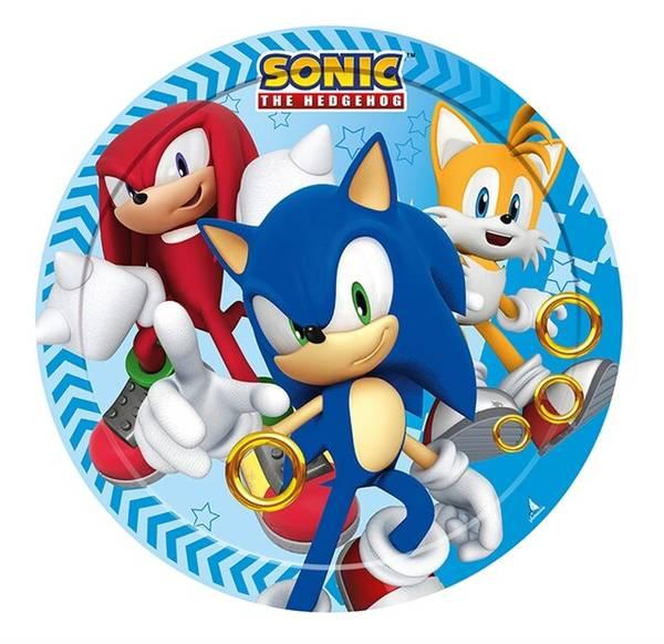 Bilde av Sonic Kakebilde 2,Sukkerpapir, 20cm