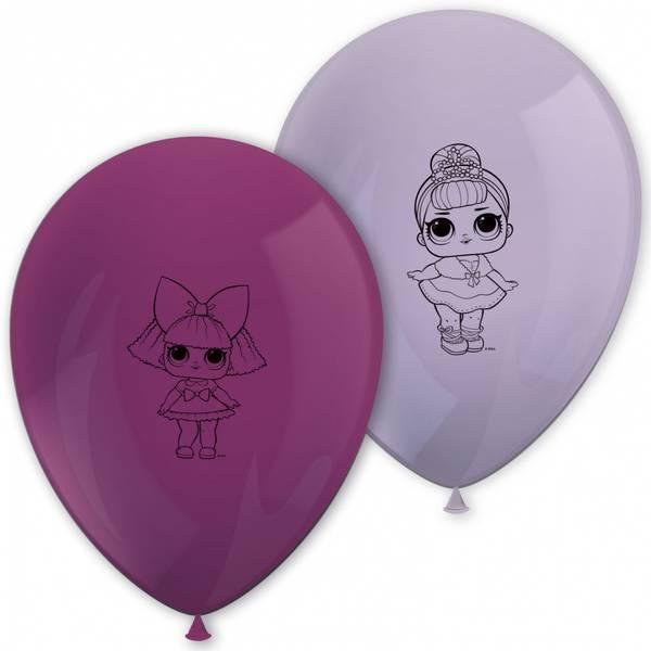 Bilde av LOL Surprise Metalic Glitter, Ballonger, 8stk