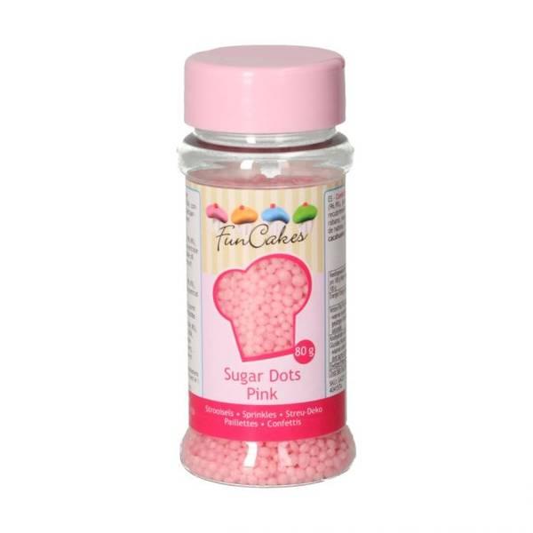 Bilde av Strøssel Sugar Dots Pink 80g
