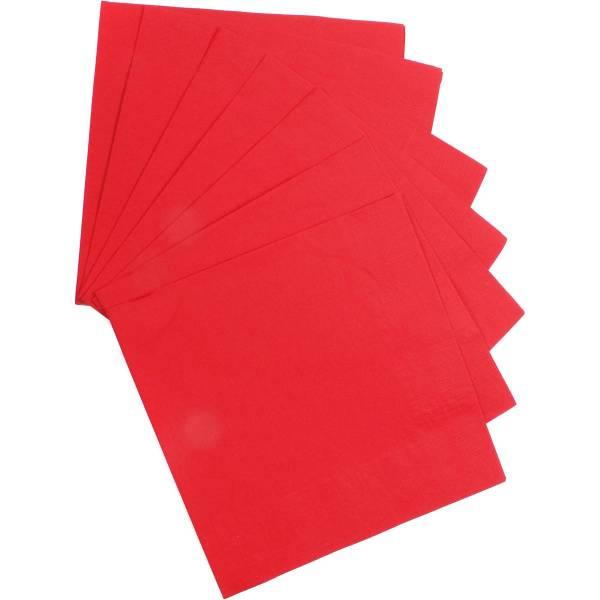 Bilde av Røde servietter, 20 stk