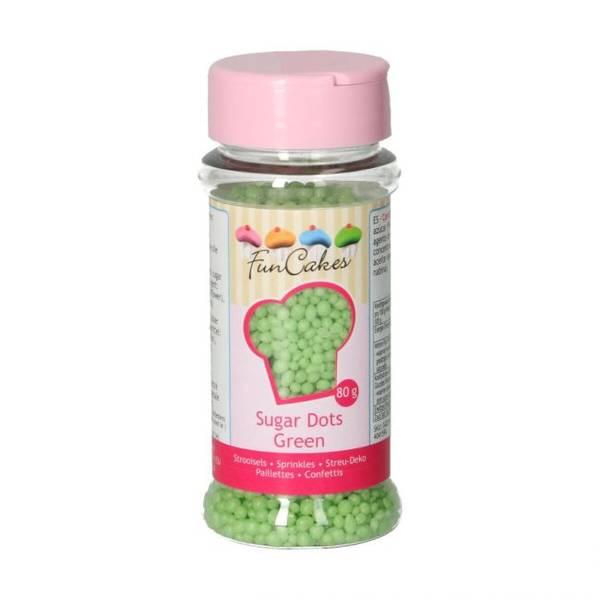 Bilde av Strøssel Sugar Dots Green 80g