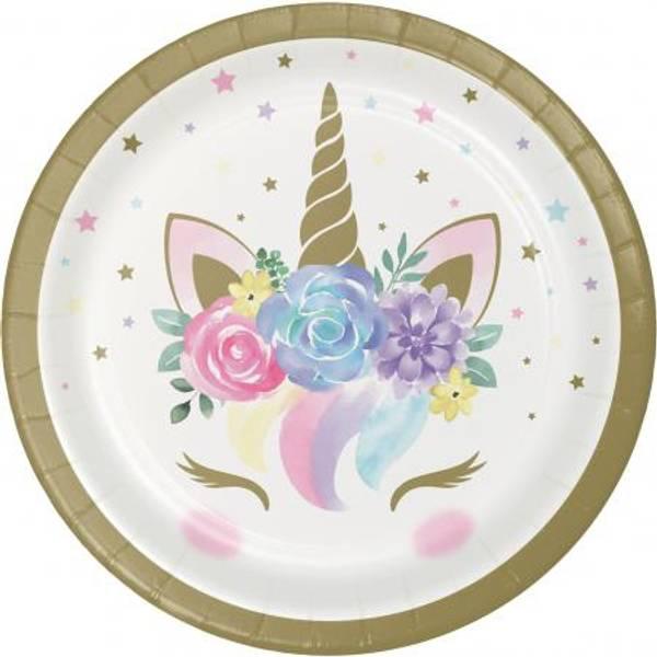 Bilde av Unicorn Baby, Asjetter, 8 stk