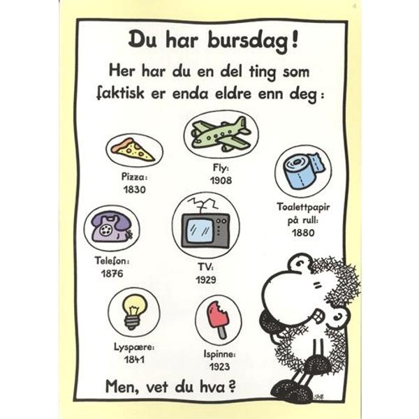 Bilde av Bursdagskort,