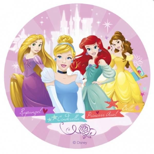 Bilde av Disney Prinsesse, Kakebilde, 20cm