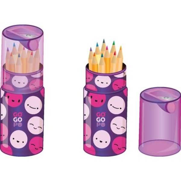 Bilde av Fargeblyanter i dekorativ boks