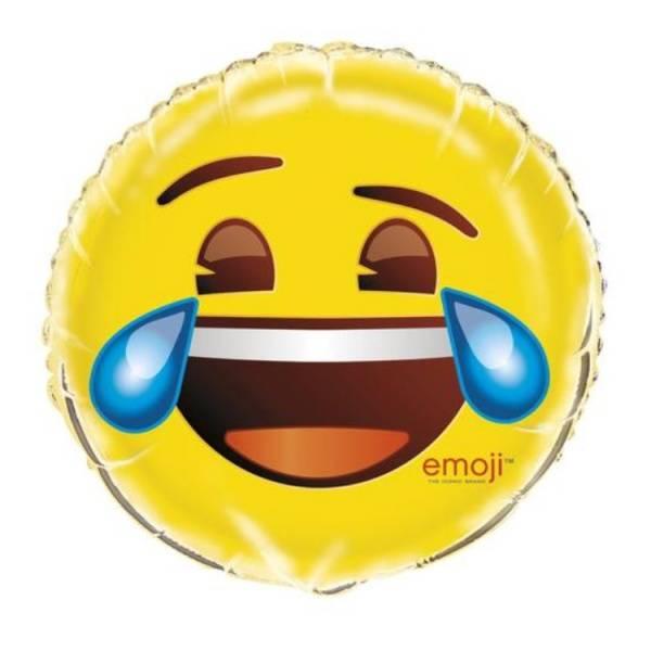 Bilde av Emoji Crying Laughing Folieballong 46cm