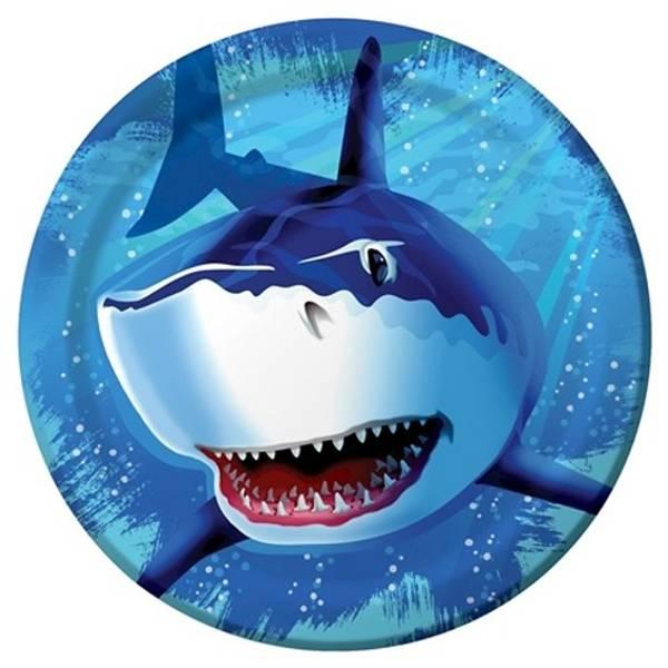 Bilde av Shark Dudutu, Tallerker, 8 stk