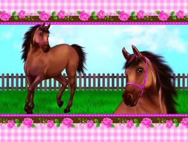 Bilde av Heste Duk, 120x180 cm