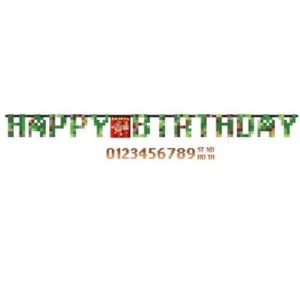 Bilde av Pixel Happy Birthday Jumbo Banner