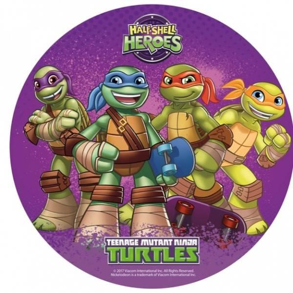 Bilde av Ninja Turtles Kakebilde, 20 cm