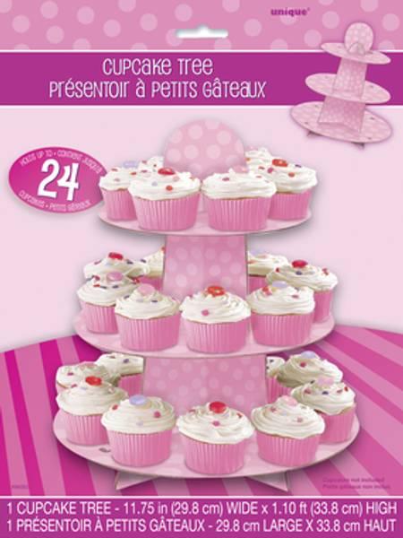 Bilde av Stett-fat til Cupcake, Rosa