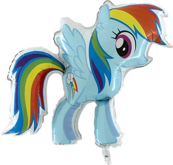Bilde av My Little Pony Folieballong, 70 cm X 80 cm