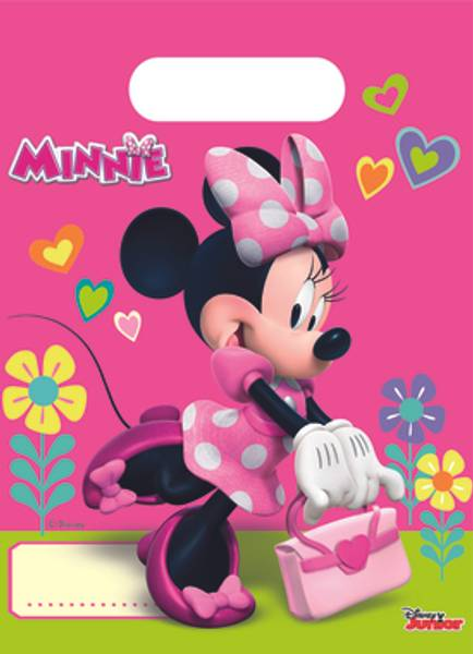 Bilde av Minnie, godteposer, 6stk
