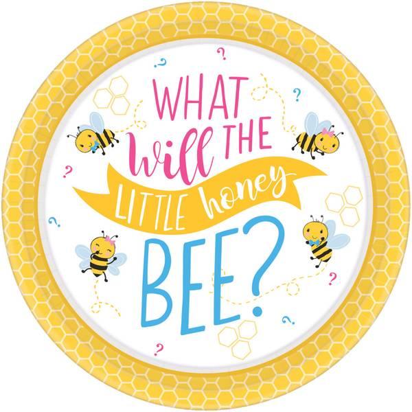 Bilde av What will it Bee? Tallerken 8 stk