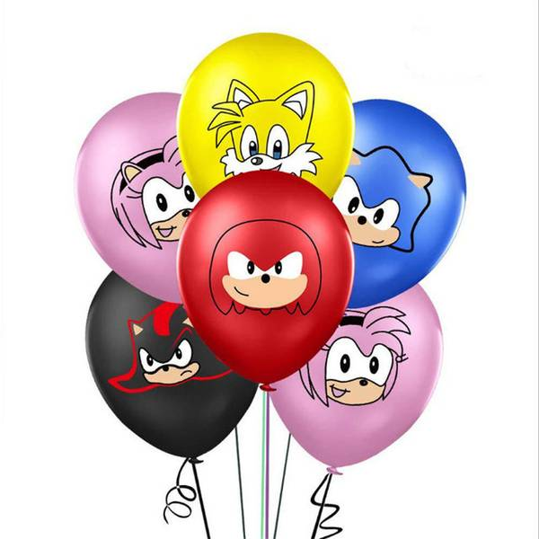 Bilde av Sonic The Hedgehog, Ballonger 8 stk.