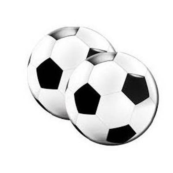 Bilde av Fotball Servietter Runde, 20 stk