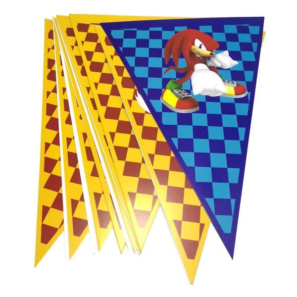 Bilde av Sonic The Hedgehog, Flagbanner