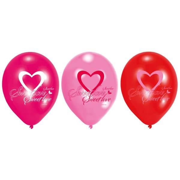 Bilde av Sweet Love Ballonger, 6 stk
