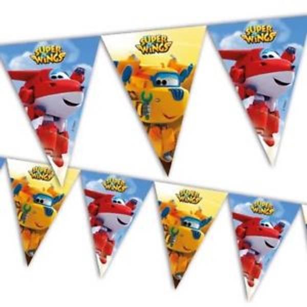 Bilde av Super Wings Bursdags Banner, 2,3 m