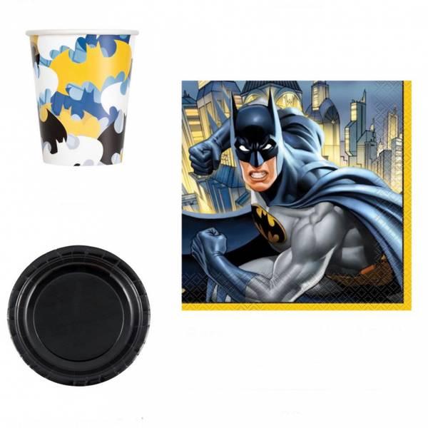 Bilde av Batman,Basis Bursdagspakke, 16 personer