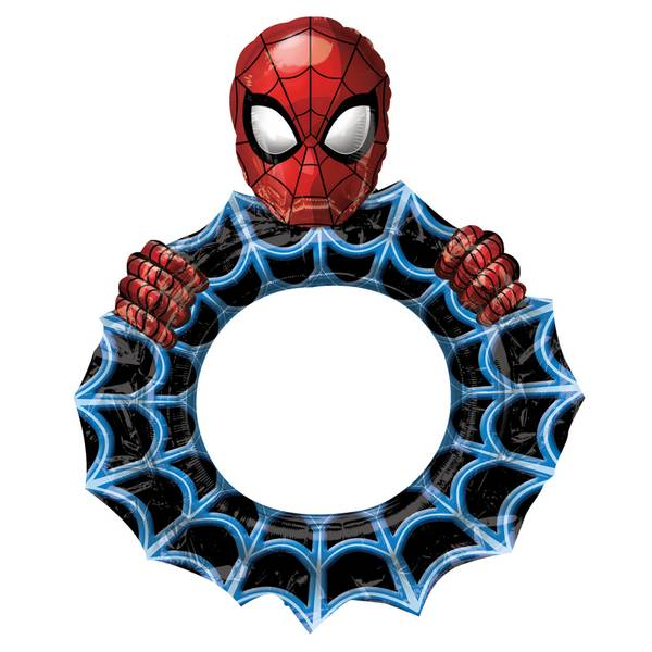 Bilde av Spiderman Folieballong, Ramme