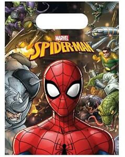 Bilde av Spiderman Godteposer