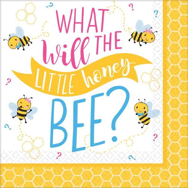 Bilde av What will it Bee? Cafe servietter 16 stk