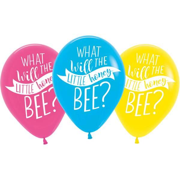 Bilde av What will it Bee? Ballonger 6 stk