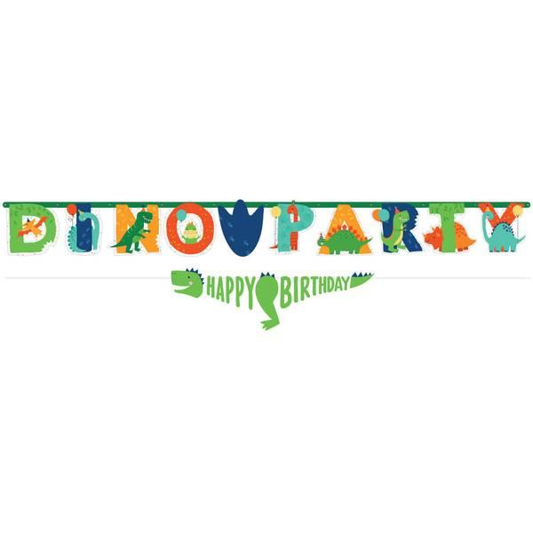 Bilde av Dino- Mite, Jumbo Banner, 230 cm