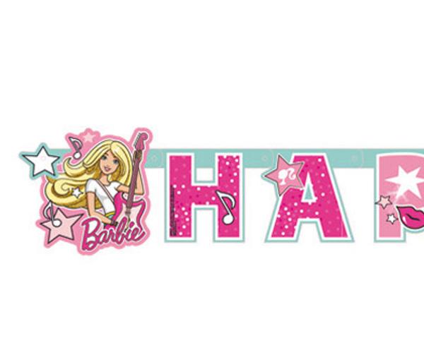 Bilde av Barbie Rock Star Banner, 180 cm