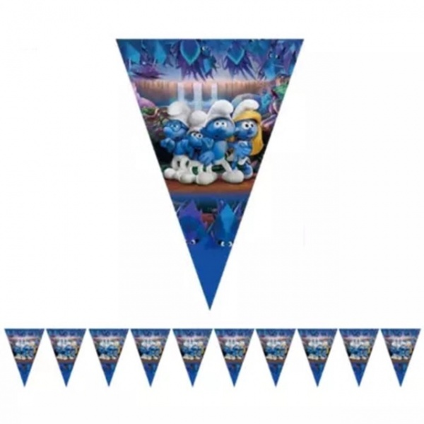 Bilde av Smurfe banner