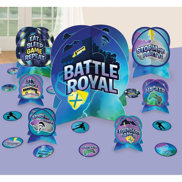 Bilde av Battle Royal Bordpynt Kit, 7 Deler + Konfetti