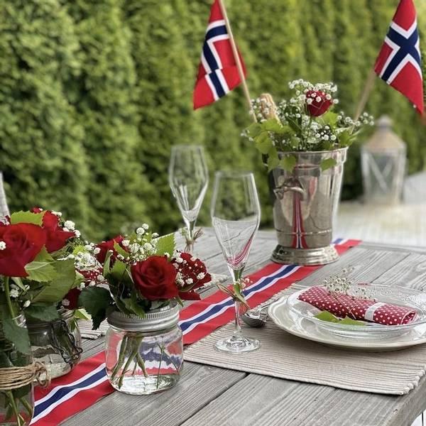 Bilde av 17. mai Dekorbånd/Bordløper