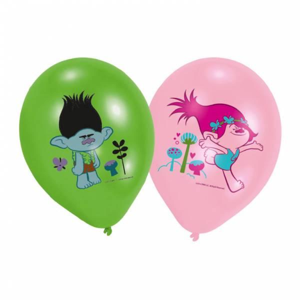 Bilde av Trolls World Tour, ballonger 6 stk