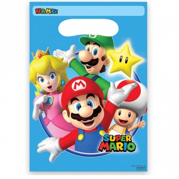 Bilde av Super Mario, Godteposer, 8stk